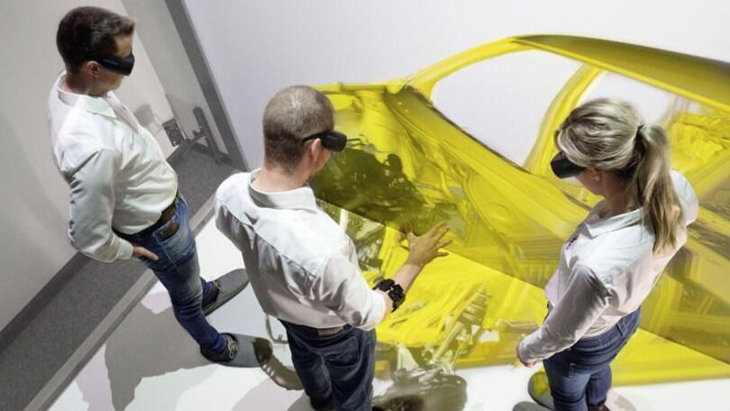 Audi: la realtà virtuale aiuta il montaggio