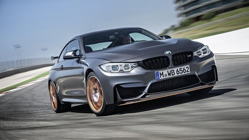 BMW M4 GTS, sfida alla Alfa Giulia
