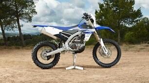Yamaha WR450F: ispirata alla campionessa del… cross