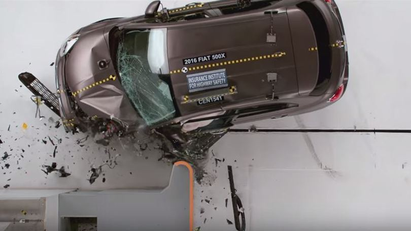Fiat 500X al top nei crash test USA