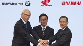 Honda, Yamaha e BMW: insieme per la sicurezza