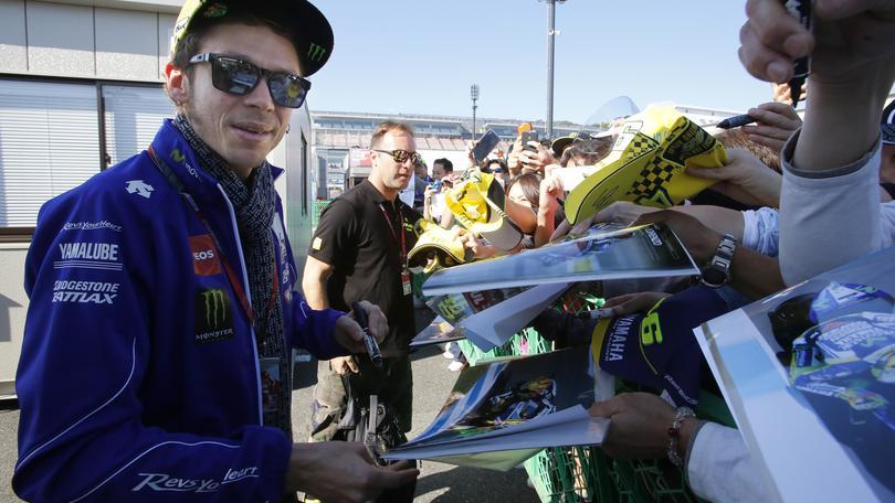 MotoGp Giappone, Rossi: «Pronto a lottare con Lorenzo»