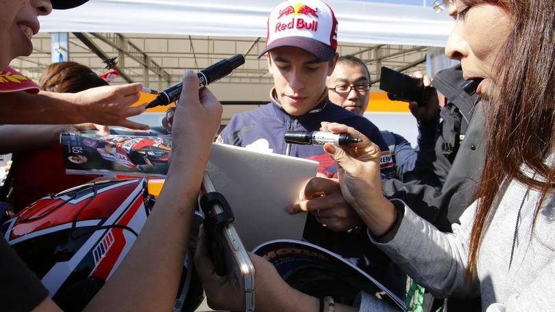 MotoGp Giappone, Marquez: «Yamaha superiori, obiettivo podio»