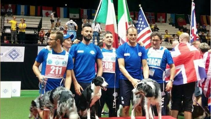 Un grandissimo oro per l'Italia ai Mondiali di Agility di Bologna
