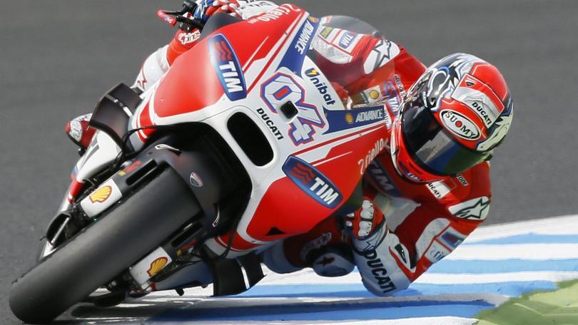 MotoGp Ducati, Dovizioso: «Rammarico, potevo essere terzo»