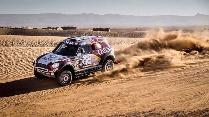 Mini vince il Rally del Marocco
