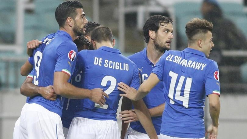 Azerbaigian-Italia 1-3: Eder, El Shaarawy e Darmian portano gli azzurri a Euro 2016