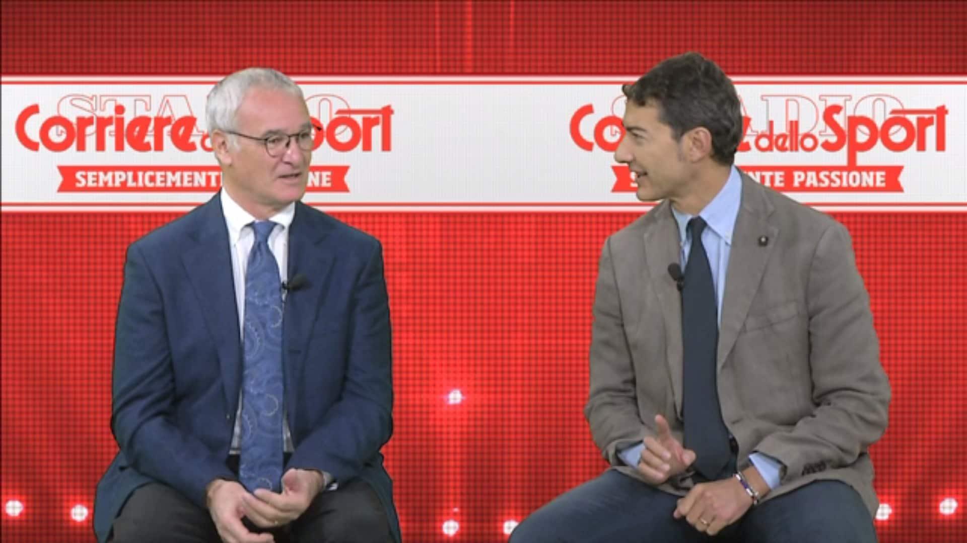 Ranieri: Perché tolsi Totti e De Rossi nel derby