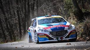 Peugeot e Andreucci, la fotostoria del Campionato Italiano Rally 2015