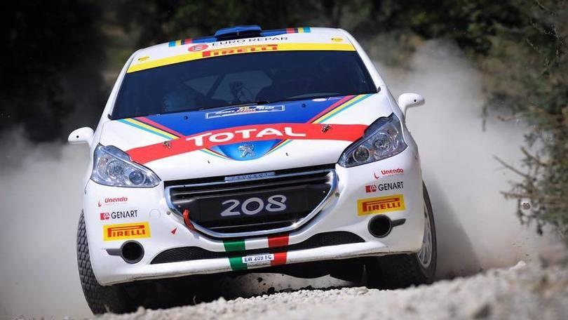 Peugeot, nono titolo nel Campionato Italiano Rally