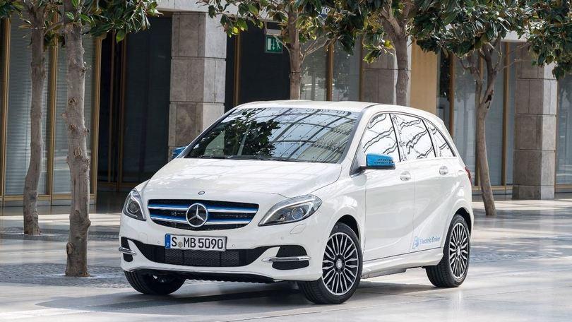 Mercedes porta in tour la Classe B elettrica