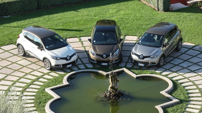 Renault Captur, le edizioni top Excite e Iconic