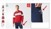 Gaffe Adidas, la maglia del Manchester e i pantaloni del Chelsea