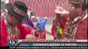 Perù, rito sciamano contro Sanchez