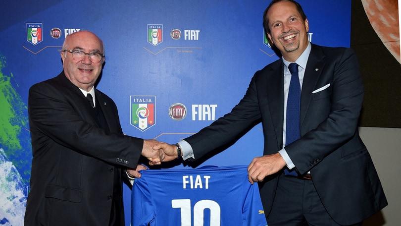 FCA: altri 4 anni da Top Sponsor della FIGC