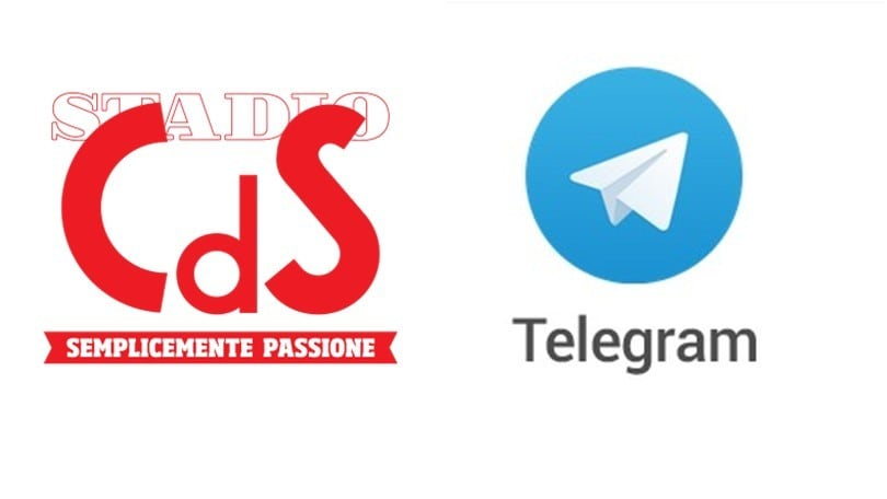 Il CorrieredelloSport.it sbarca su Telegram