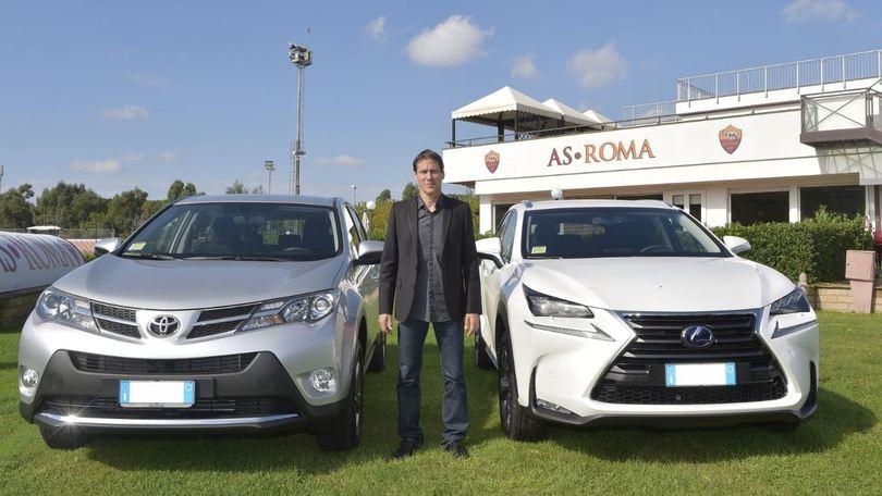 La Roma viaggia green con Toyota e Lexus