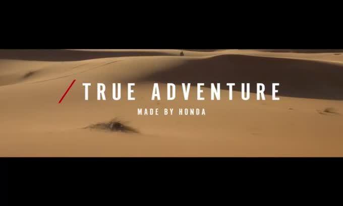 Honda Africa Twin: la clip ufficiale