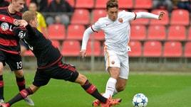 Youth League Roma, che abbraccio tra Sabatini e De Rossi