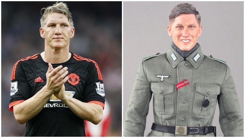 "Il pupazzo ""nazista"" sembra Schweinsteiger: lui fa causa"