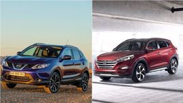 La partita dei consumi: Nissan Qashqai batte Hyundai Tucson