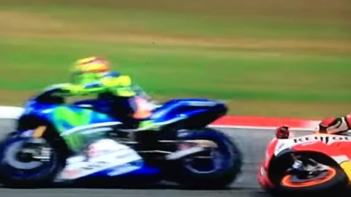Rossi-Marquez: la sequenza del contatto - Corriere dello Sport