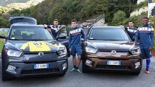 SsangYong nuovo sponsor della Sampdoria