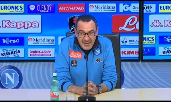 """Sarri: """"Maradona? Può dire quel c... che vuole"""""""