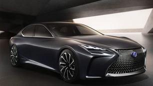 Lexus LF-FC concept, Salone di Tokyo 2015