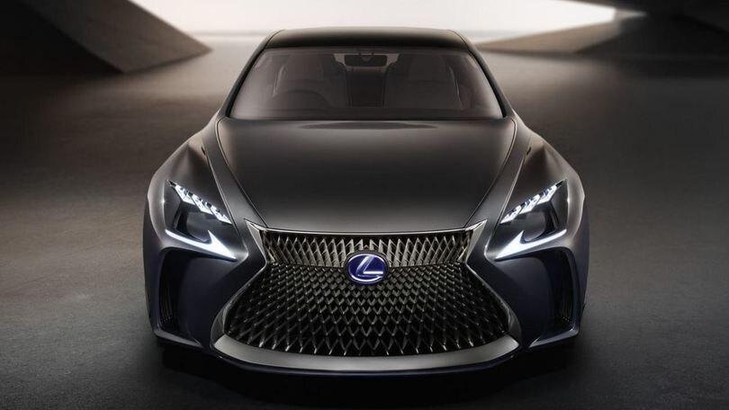 Lexus LF-FC concept, ammiraglia a idrogeno