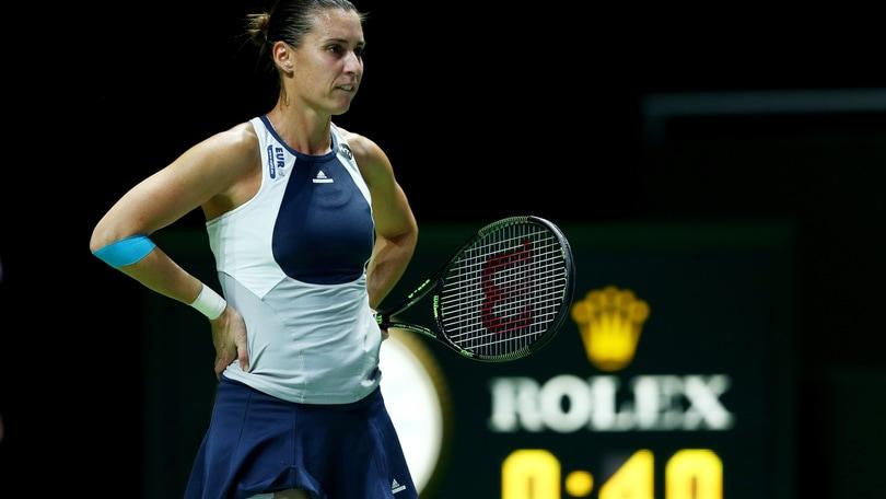 Wta Finals, Pennetta eliminata: in semifinale va Sharapova