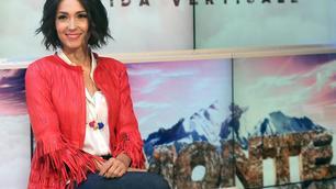 Caterina Balivo sexy alla presentazione di Monte Bianco