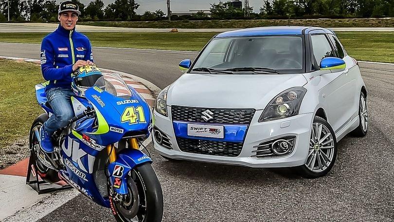 Suzuki Swift GSX-RR, tributo alla MotoGP