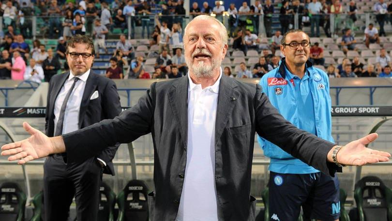 Calciomercato Napoli, De Laurentiis: «Higuain resta, a meno che...»