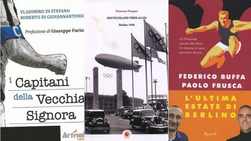 I capitani della Juve e due libri sulle Olimpiadi del '36