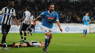 Napoli-Udinese 1-0, Higuain fa 200