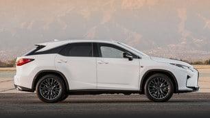 Lexus RX Hybrid, foto e prezzi del SUV ibrido