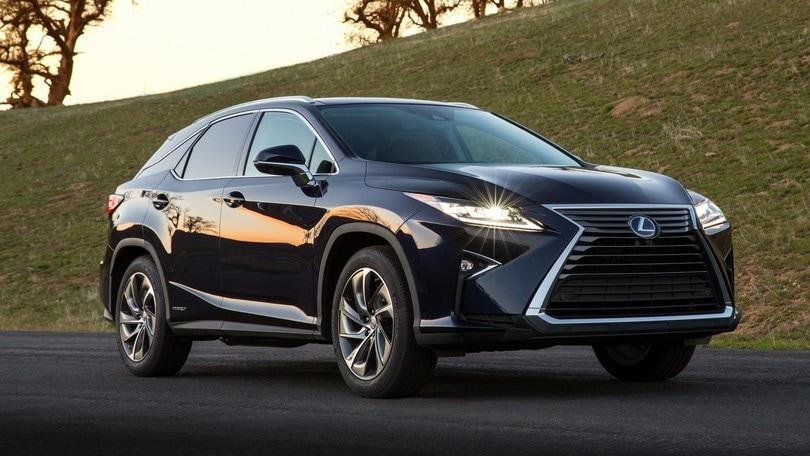 Lexus RX 450h, foto e prezzi del nuovo SUV ibrido