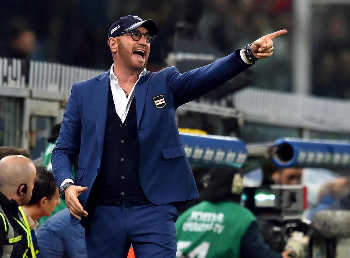 Sampdoria, web scatenato per la barba di Zenga