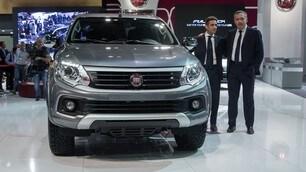Fiat Fullback, prime immagini del pick-up