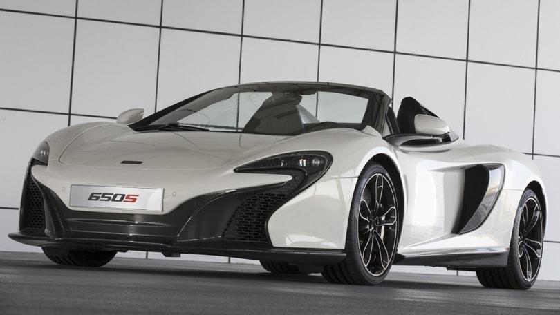 McLaren Al Sahara, sportiva d'oro per sceicchi