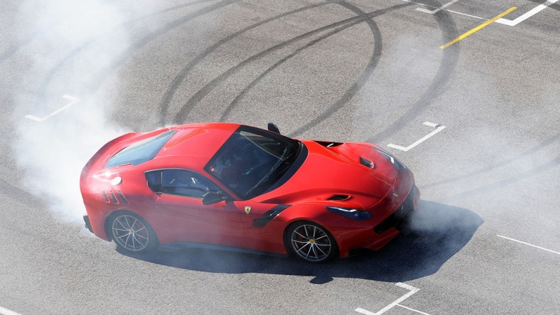 Ferrari F12TDF, Vettel porta in pista l'ultimo sogno
