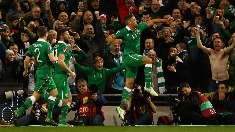 Euro 2016, spareggi: Irlanda-Bosnia 2-0: doppietta di Walters, festa a Dublino