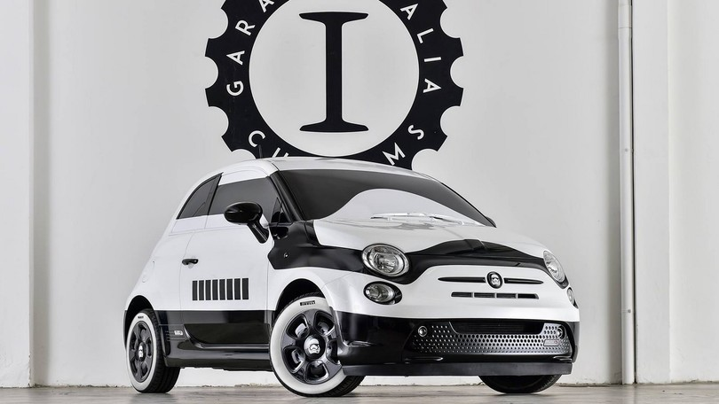 Fiat 500 Star Wars by Garage Italia Customs