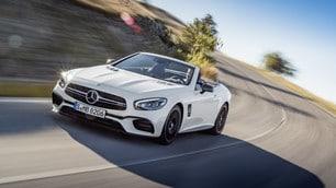 Nuova Mercedes SL, Los Angeles Auto Show 2015