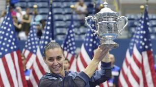 Flavia Pennetta trionfa agli Us Open: con la Vinci New York è azzurra