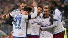 Bundesliga, diretta Amburgo-Borussia Dortmund 3-1