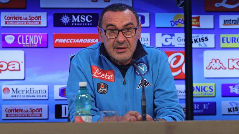 Napoli, Sarri: «Higuain è molto stanco ma ci sarà»