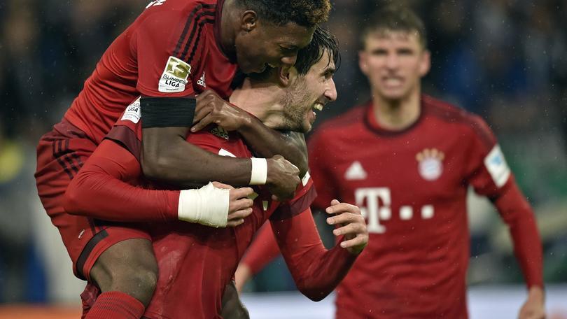 Bundesliga, il Bayern non si ferma: 3-1 allo Schalke