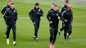 Il Manchester City si prepara al match contro la Juventus